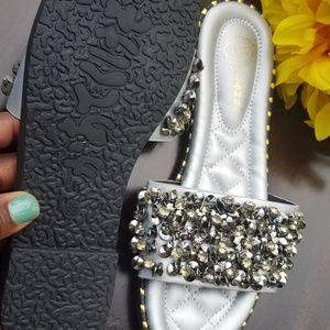 Shoes - Sparkle Sequin Sandals